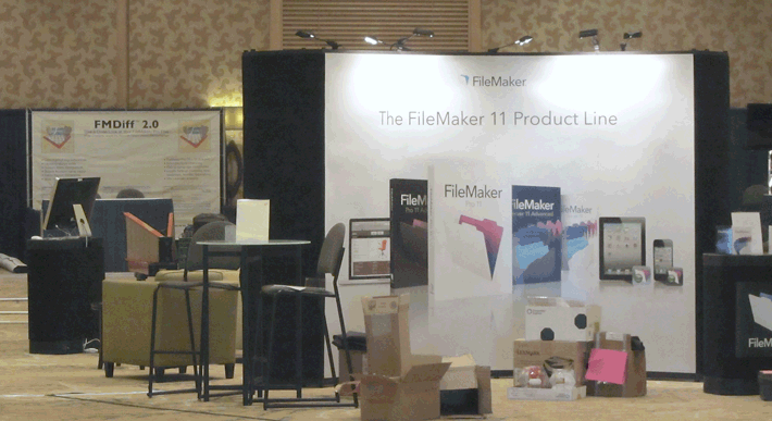 FileMaker and FMDiff booth